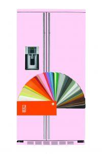 IO MABE Side by Side Kühlschrank ORG S2 DFF 6RAL Farben