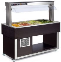 AFINOX Salatbar TR-ORANGE 3/1 GN