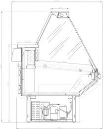 ARNEG Kühltheke WIPPER/2 VD 1800