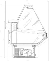 ARNEG Kühltheke WIPPER/2 VD 2400