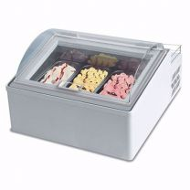 Auftisch Eisvitrine ICEBOX 3 V EIS LED