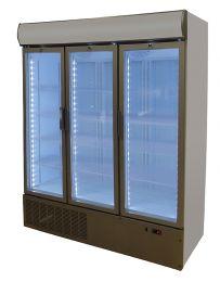 Nordcap Gewerbetiefkühlschrank TKU 1600 G-CP
