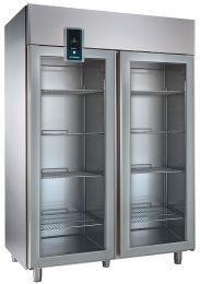 Nordcap Umluft-Gewerbekühlschrank KU 1402-G-Z Premium
