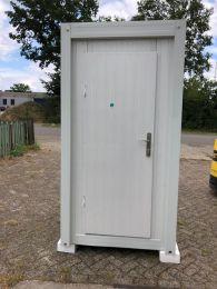 Metallen Unit Einzeln, Toilette + Waschbecken KC-WC2