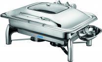 Saro Induktion Chafing Dish mit selbstschließendem Deckel, 1/1 GN RAINER