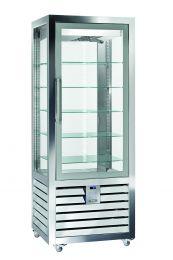 Silfer Quadro Umluft-Eisvitrine QGL 600 V 2T