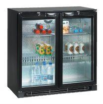 TEFCOLD Backbar Kühlschrank TEF BA 25 H 2 Glasdrehtüren