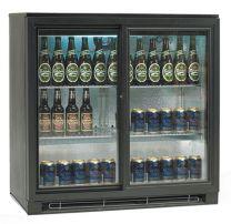 TEFCOLD Backbar Kühlschrank TEF BA 20 S 2 Glasschiebetüren