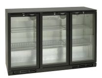 TEFCOLD Backbar Kühlschrank TEF BA 30 H 3 Glasdrehtüren