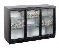 TEFCOLD Backbar Kühlschrank TEF BA 30 S – 3 Glasschiebetüren