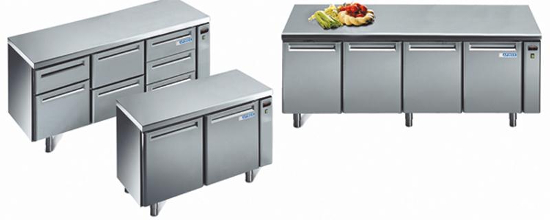 Afinox Kühltisch TRX